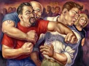 к чему снятся драки