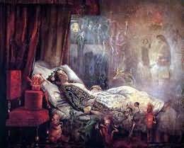 к чему снится живой человек умершим