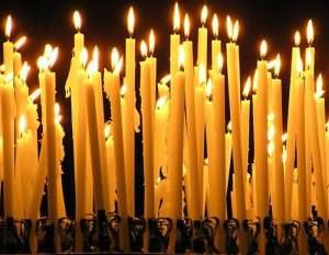 горящая свеча во сне