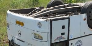автобус перевернулся во сне