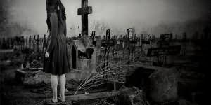 ходить по кладбищу