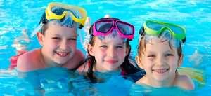 дети купаются