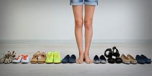 много разной обуви во сне