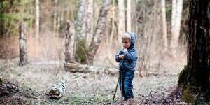потерять ребенка в лесу