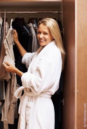 Шкаф с одеждой по соннику