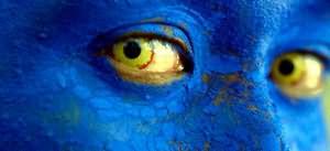 синий цвет лица во сне