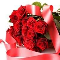 сон букет красных роз