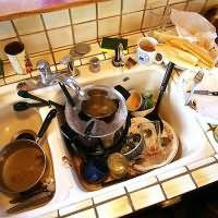 Сон много грязной посуды