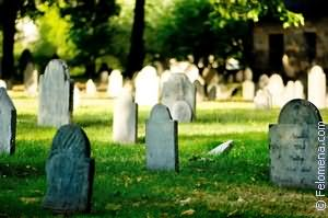 Видеть во сне кладбище